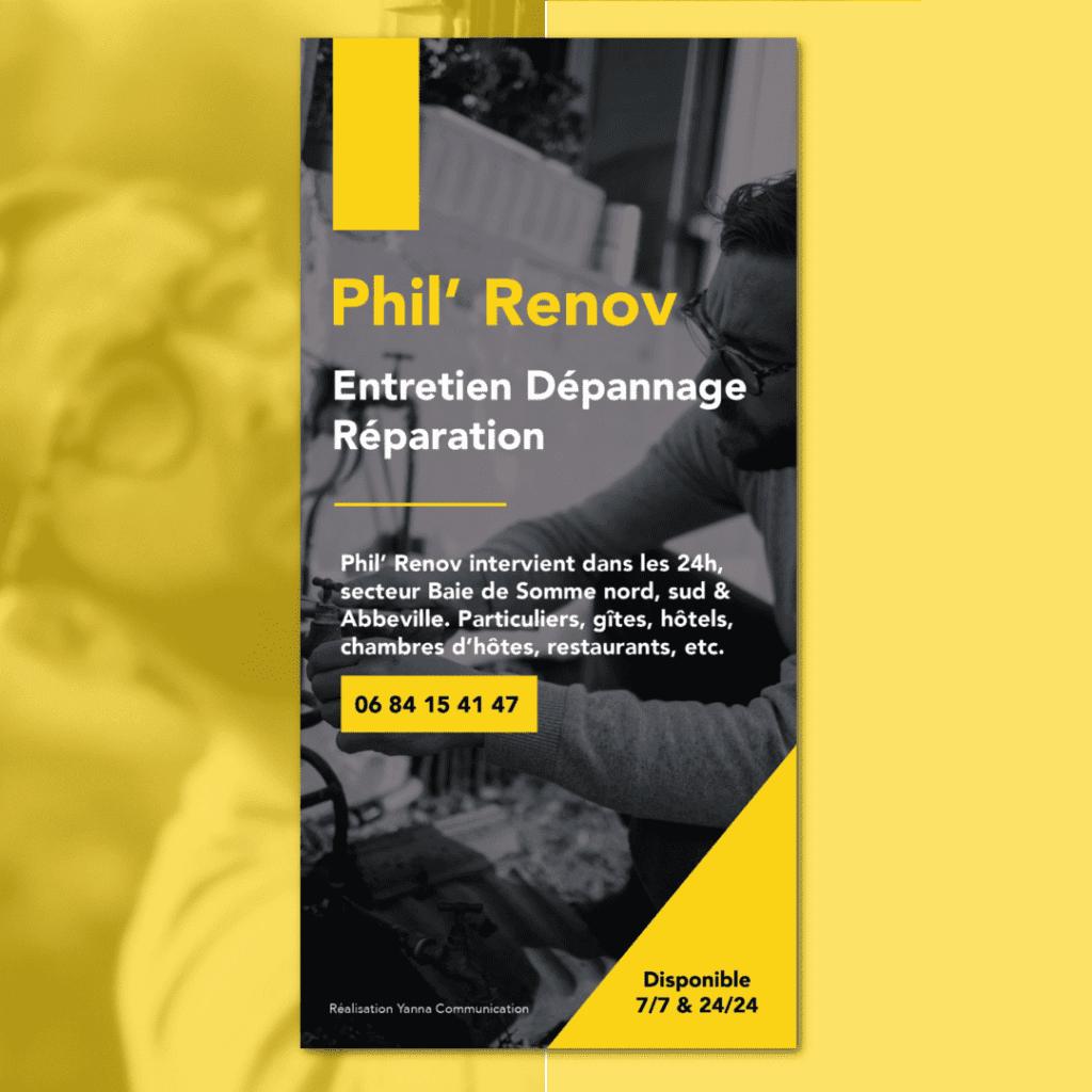 Flyer Phil Renov