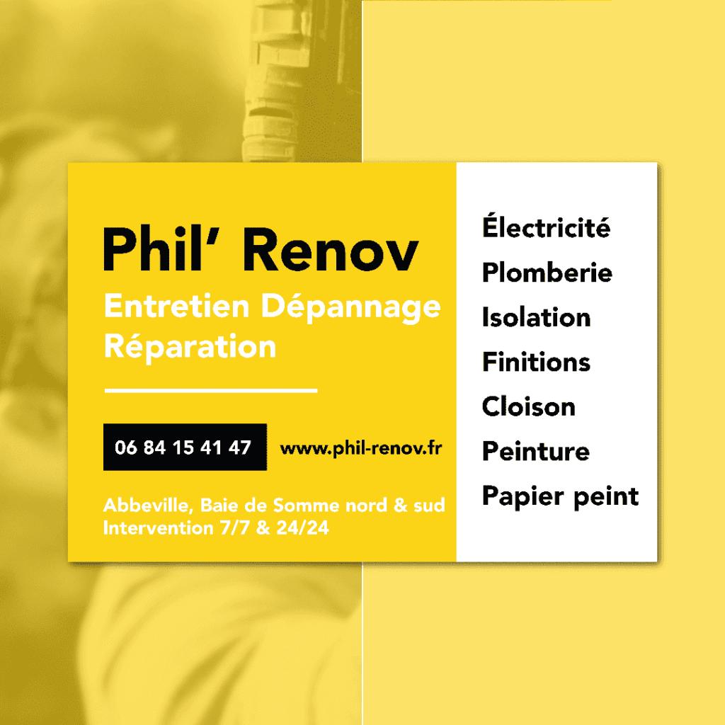 Plaque aimantée Phil Renov
