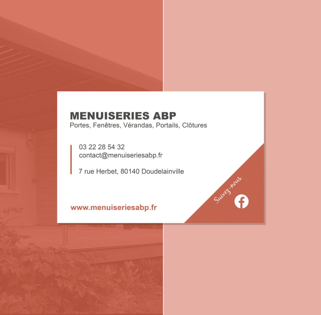 Menuiseries ABP carte de visite