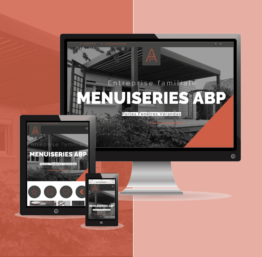 Menuiseries ABP site internet